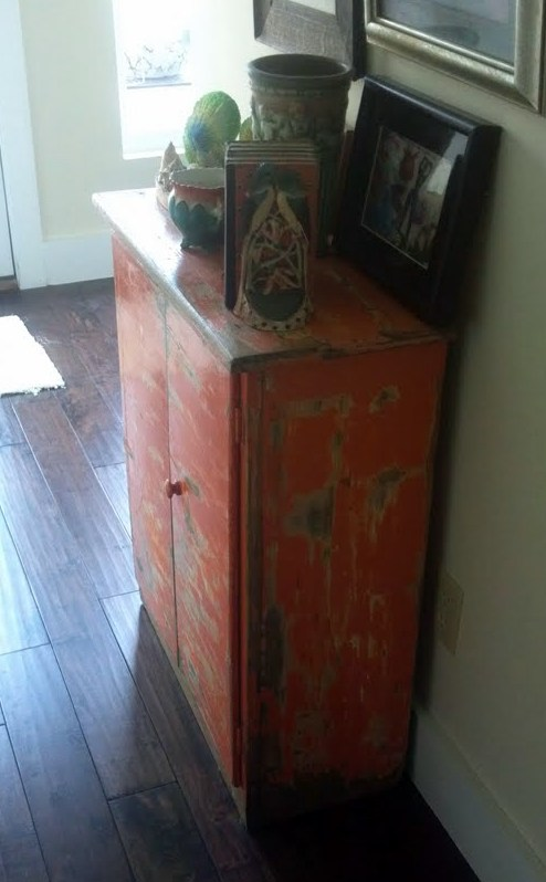 1-sideview orange cabinet